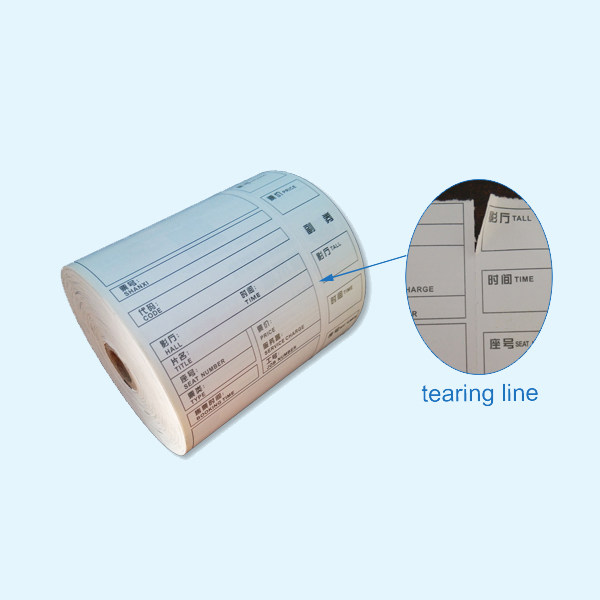 custom thermal tickets printing