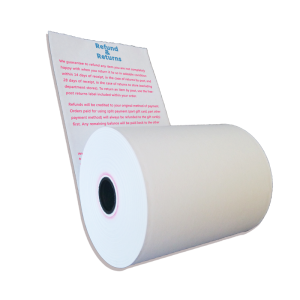 advertise on thermal paper rolls