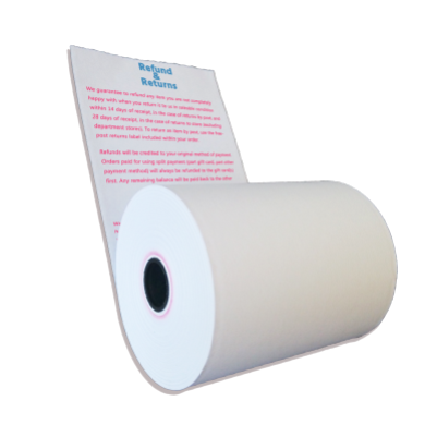 custom printed thermal paper