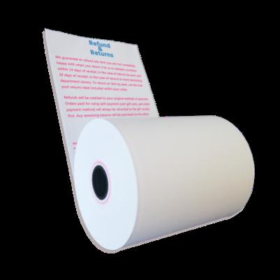 custom printed thermal paper
